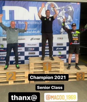 Deutscher Meister Trial 2021 Senioren
